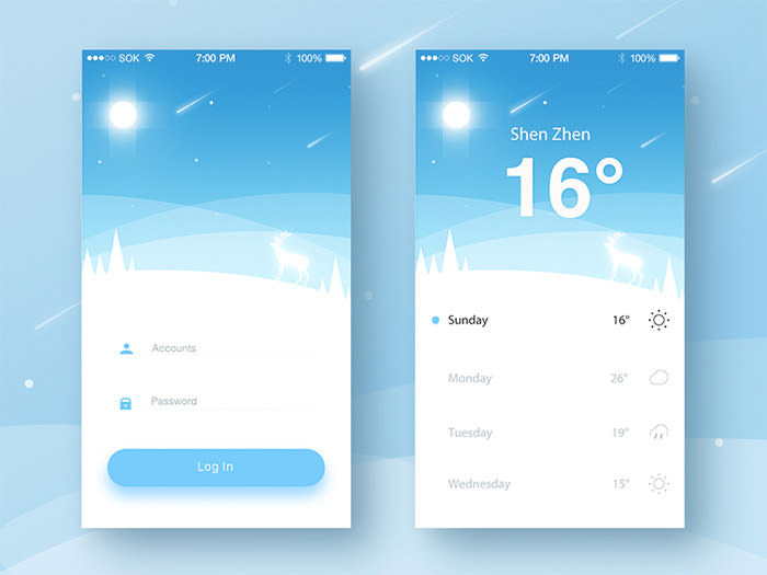 weather-login