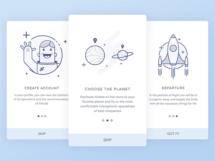 space-onboarding-screen