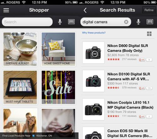 Google Shopper