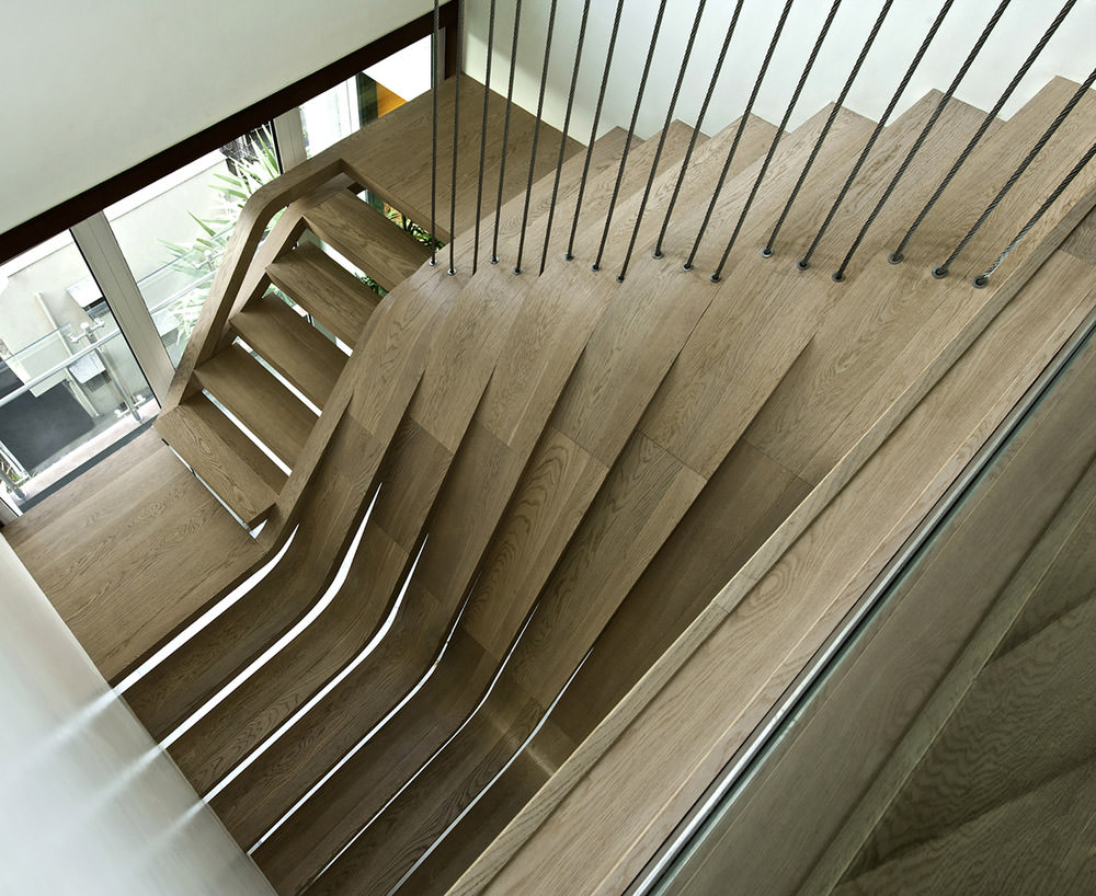 20 modern staircase ideas to spice up your home hongkiat sdm apartment ppazfo