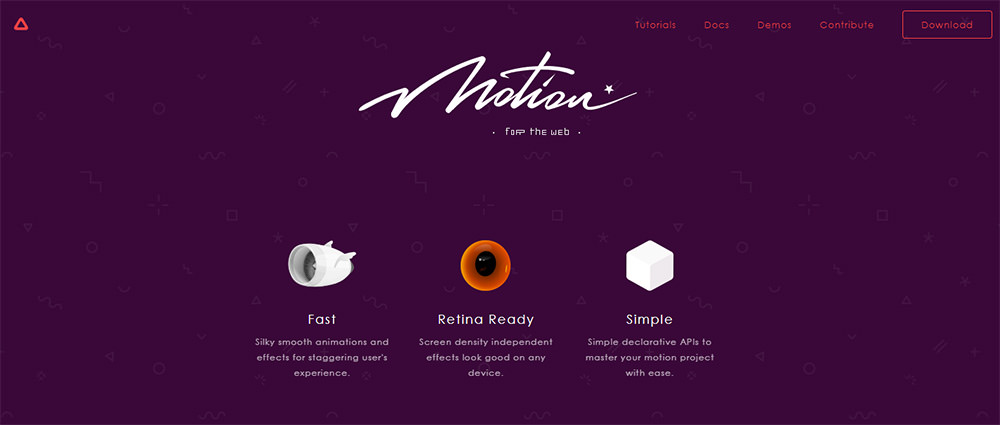 mo.js motion graphics library