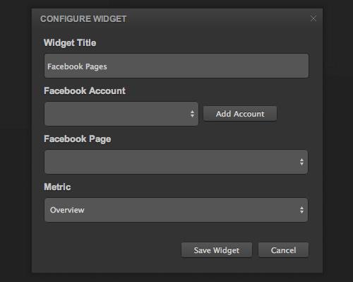 Configure Widget