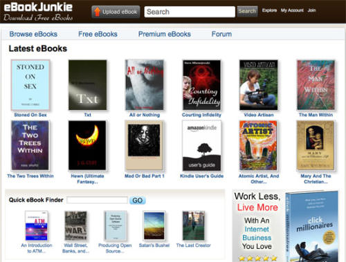 20 websites to download free ebooks part iii ebook junkie ebook junkie offers over 9000 ebooks available for free fandeluxe Image collections