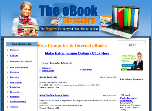 The eBook Directory
