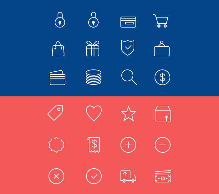ecommerce-line-icons-psd