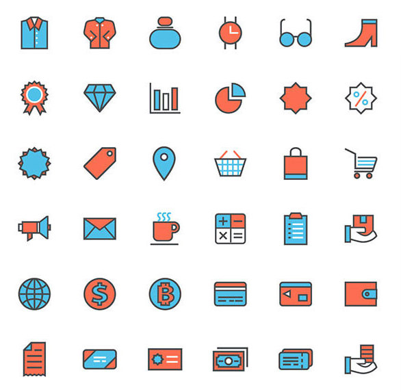 shopping-icon-set
