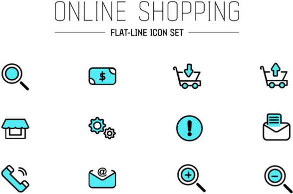 online-shop-ui-vector