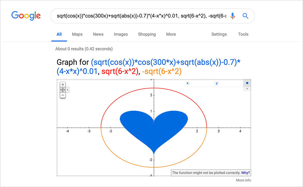 google calculations