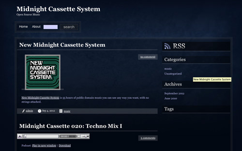 Midnight Cassette System