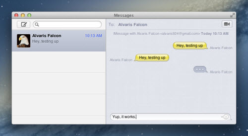 ichat plus imessages