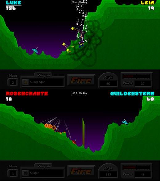 Pocket Tanks [Arcade]