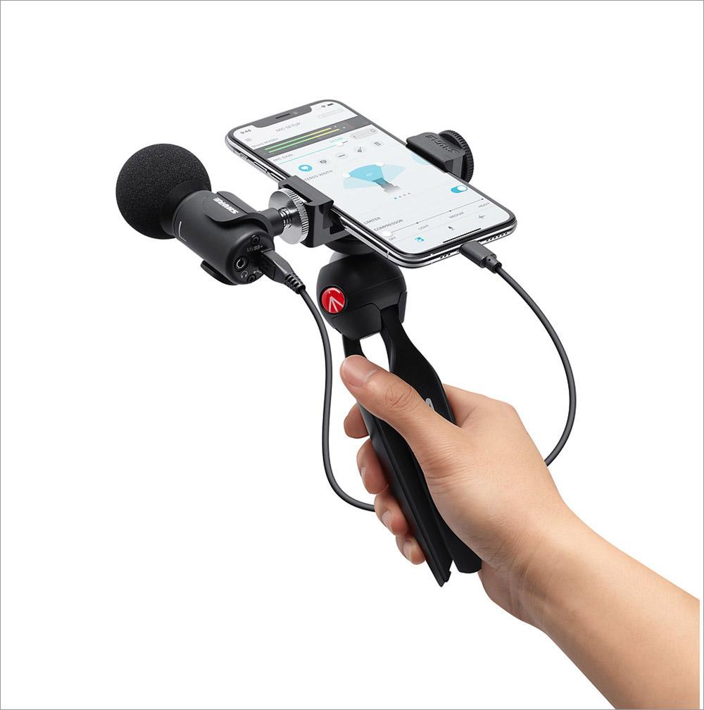 Shure MOTIV MV88 Microphone