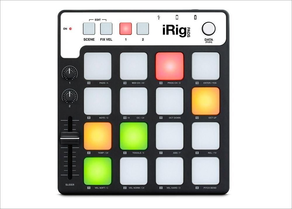 iRig Pads MIDI Groove Controller