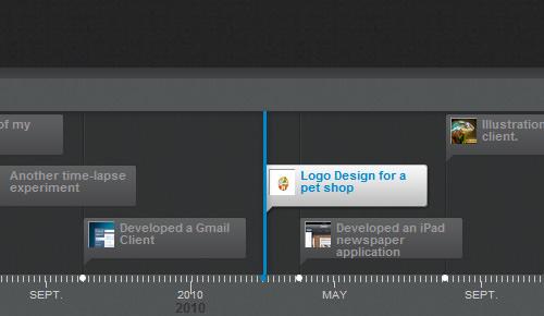 Timeline Portfolio
