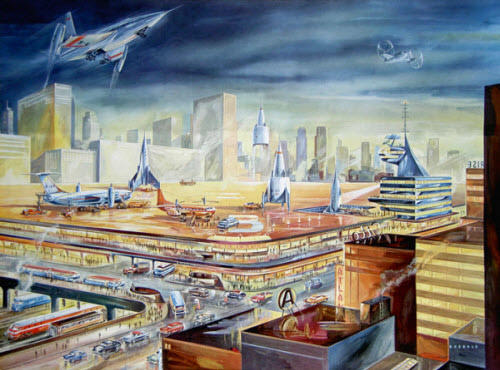collective history of futurism artwork