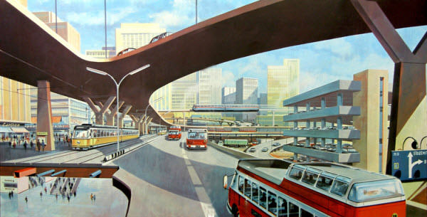 explanation of futuristic art style