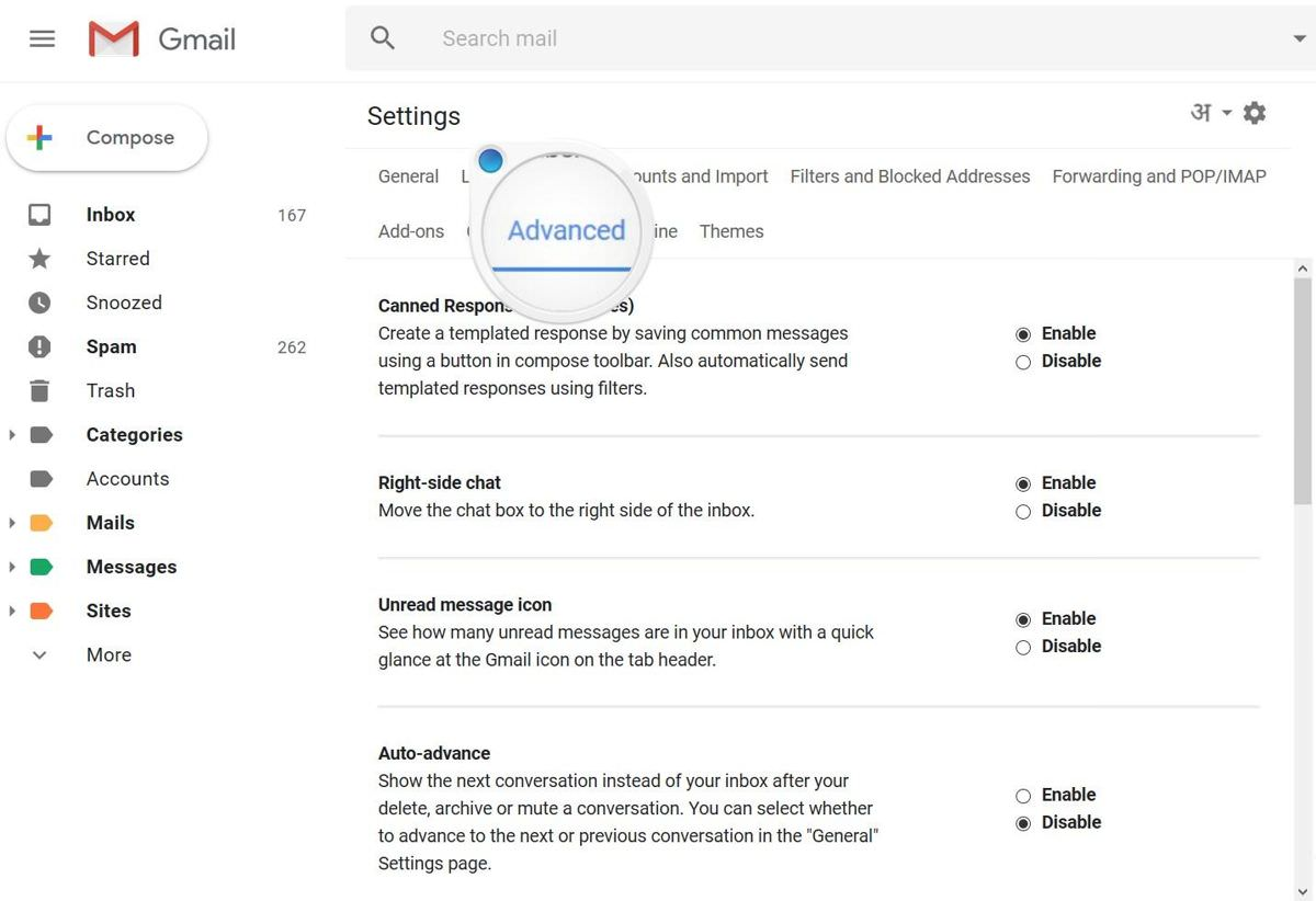 Advanced features in the new Gmail Labs