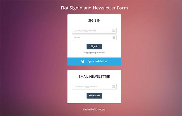 flat-signin