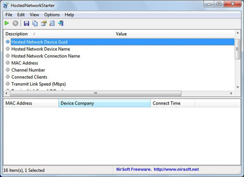 Hosted Network Starter