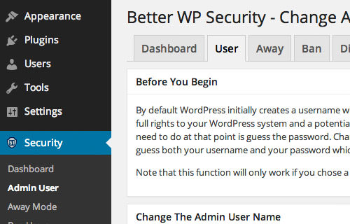 better wordpress security
