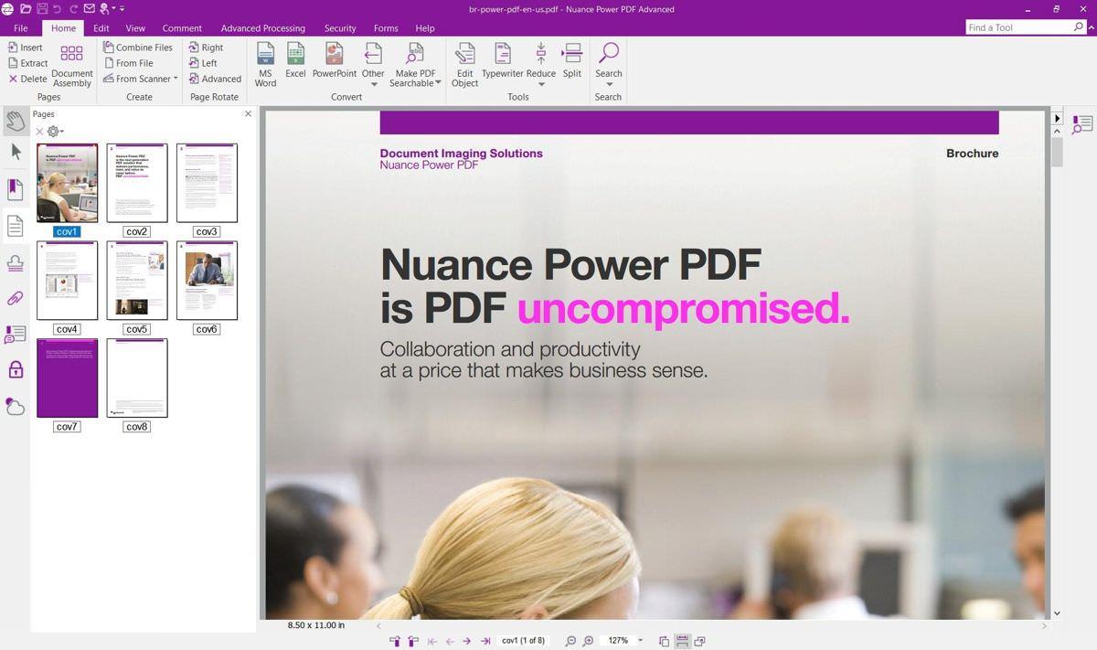 Nuance Power PDF Advanced in WIndows 10