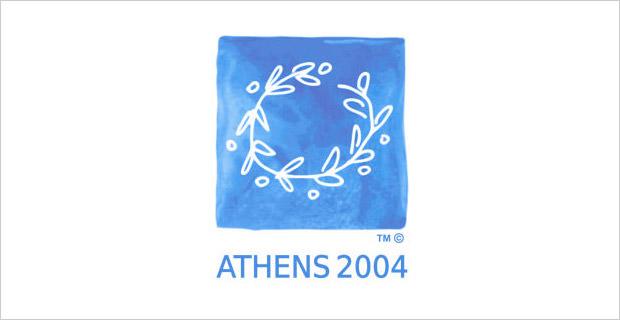 athens olympic logo