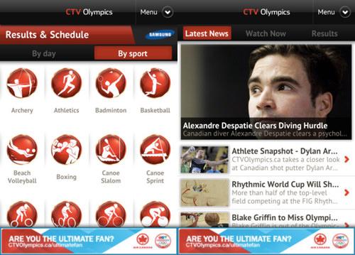 CTV Olympics London 2012