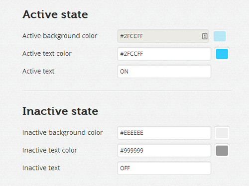 active inactive state