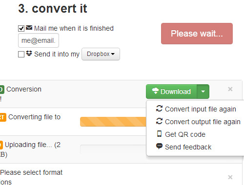 CloudConvert Download
