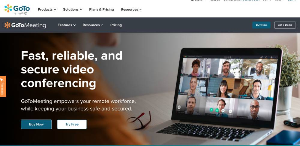 Online meeting and conferencing tools GoToMeeting