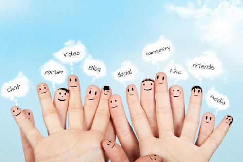 social fingers