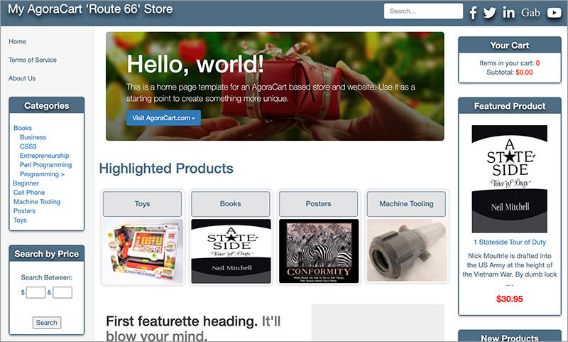 Open Source E Commerce Shopping Carts Best Of Hongkiat