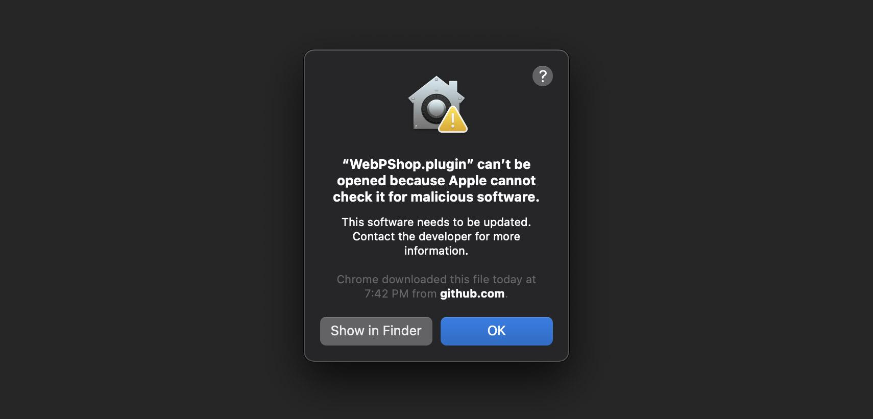 mac permission error