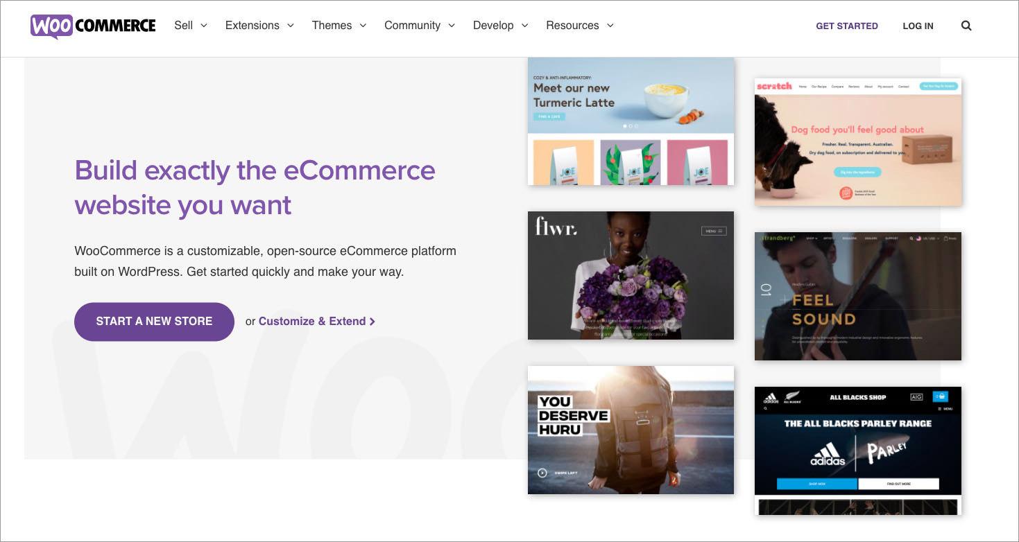 open-source ecommerce shopping cart WooCommerce