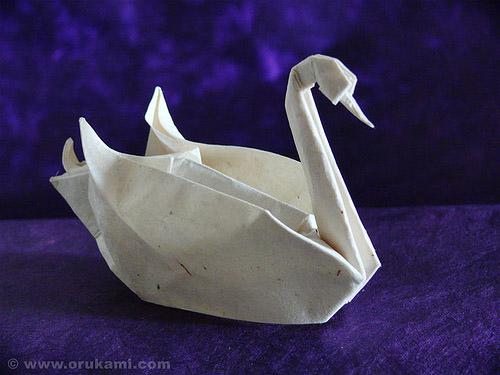 Toshikazu Kawasaki Origami Swan