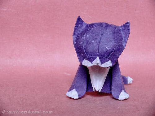 Shumakov Origami Kitten