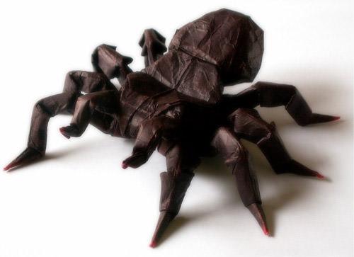 Origami Tarantula