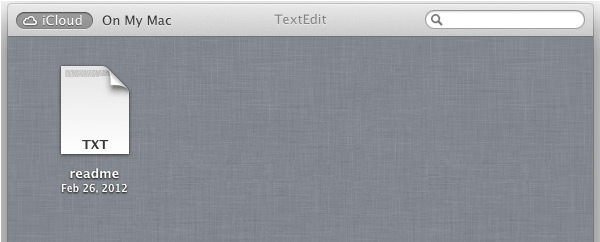 textedit from cloud