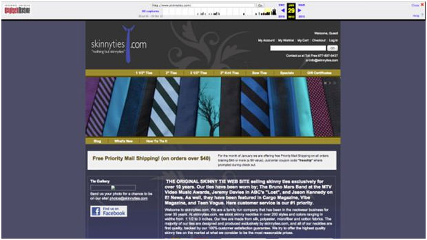 Website Before Transformation