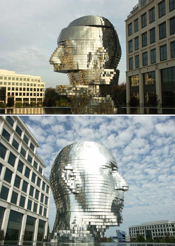 Metalmorphosis by David Černý