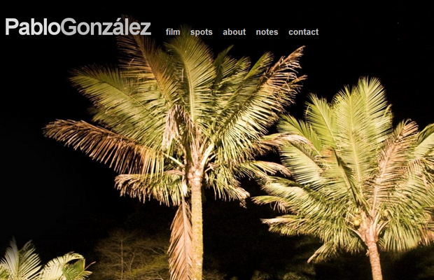 pablo gonzalez personal website director