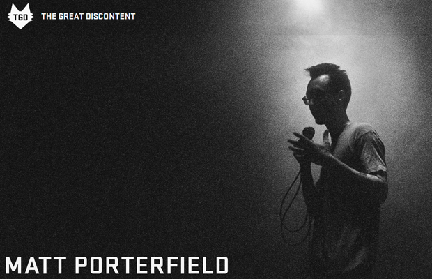 Matt Porterfield photography portfolio website layout