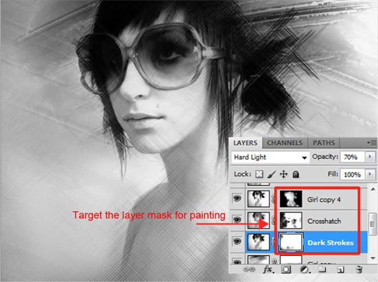paint effect ps tutorial