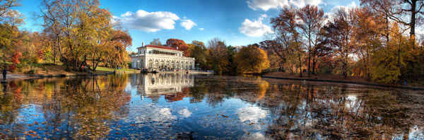 Prospect Park Boathouse Fall