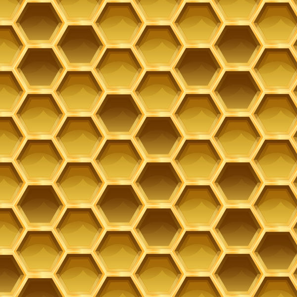 Sweet Honeycomb Pattern