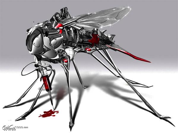 robotic mosquito