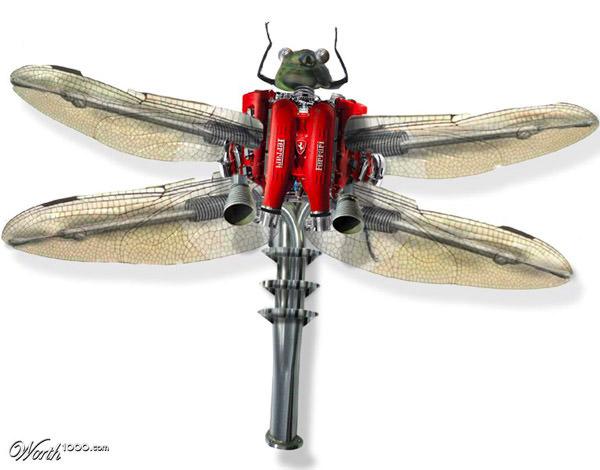 ferrai dragonfly
