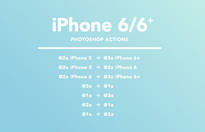 iphone 6 plus photoshop action