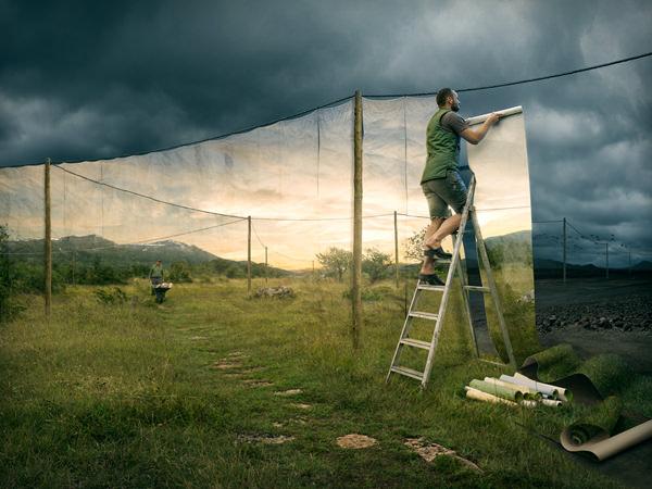 landscape manipulation photoshop