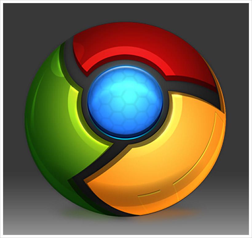 Chrome-icon-PSD